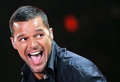 Ricky Martin laugh