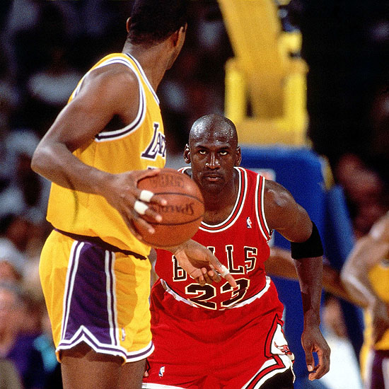 Jordan vs Magic